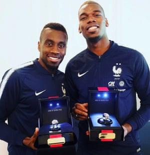 Blaise Matuidi and Paul Pogba