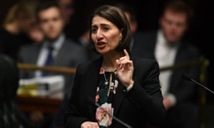 Gladys Berejiklian in the NSW parliament