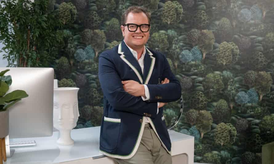 Alan Carr, host of the BBC's Interior Design Masters