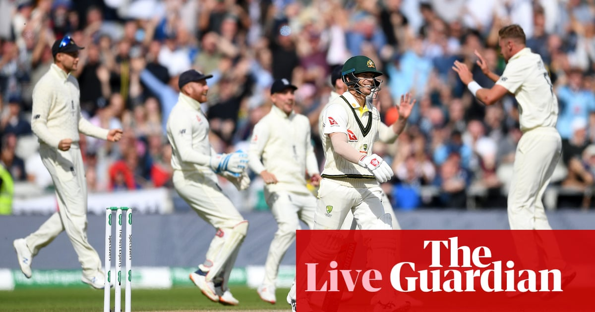 Ashes 2019: England 301 all out against Australia in fourth Test, day four – live!