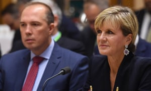 Peter Dutton says detainees trying to force asylum policy change