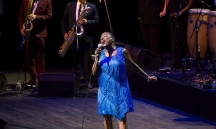 Sharon Jones will play the TD James Moody jazz festival in Newark later in November.