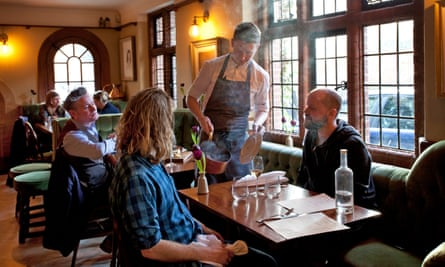 The Fordwich Arms, King street, Fordwich, near Canterbury, Kent, for Guardian Weekend magazine restaurant review, 10/01/2018 Sophia Evans for The Guardian