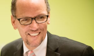 Thomas Perez is loved by labor leaders for his sympathetic ear.