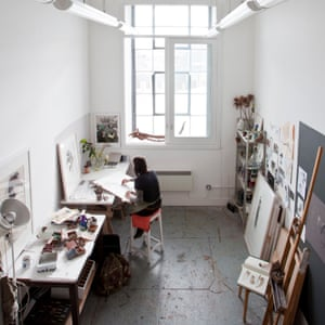 Lara Scouller's Studio, WASPS Studios, Dundee