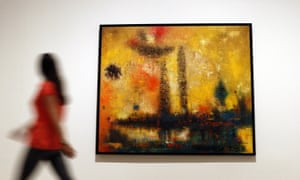 The Firework is among works on show at Tate Modern.