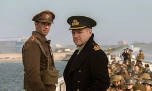 Soldiering on … James D'Arcy and Kenneth Branagh in Christopher Nolan's acclaimed Dunkirk.