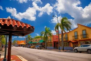 The colourful streets of Little Havana in Miami are threatened by zoning changes and lack of protection for the historic buildings.