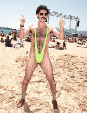 f450ddc159a46 Sacha Baron Cohen offers to pay fines of tourists who wore 'Borat ...