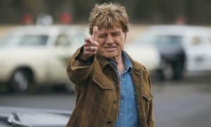 Robert Redford stars as a bank robber in The Old Man and The Gun.