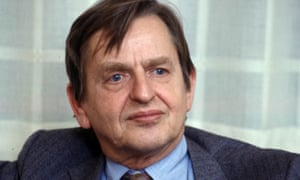 Olof Palme in 1986. He was gunned down in a Stockholm street later that year.