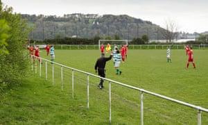 Glan Conwy v Llanrwst United in Wales.
