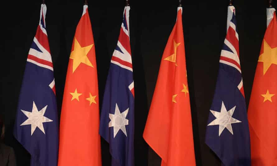 'Australia and China and their governments may no longer talk with each other, but they talk a lot about each other, usually in the most undiplomatic way.'