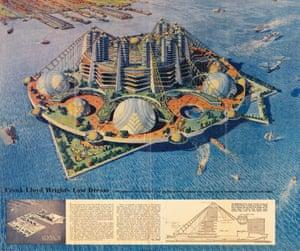 key project for Ellis Island - FLW, 1959
