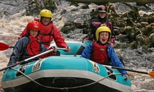 Rafting with Ace HIdeaways, Moray, Scotland