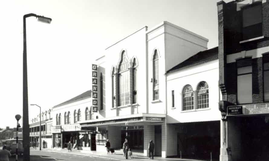 The Granada cinema building in 1979