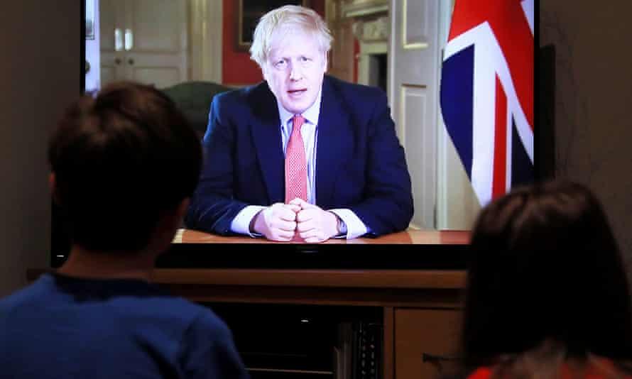 Boris Johnson announces lockdown on 23 March