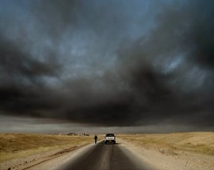 The road to Mosul.