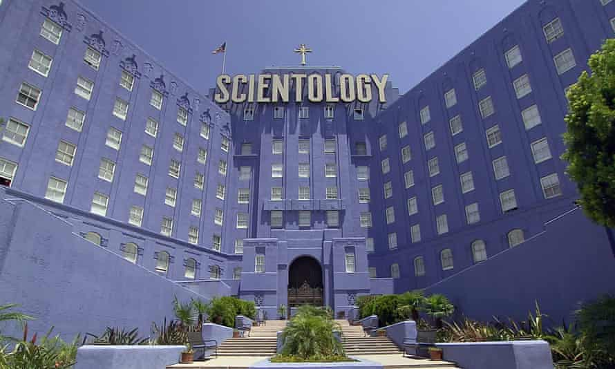 The Church of Scientology building in LA