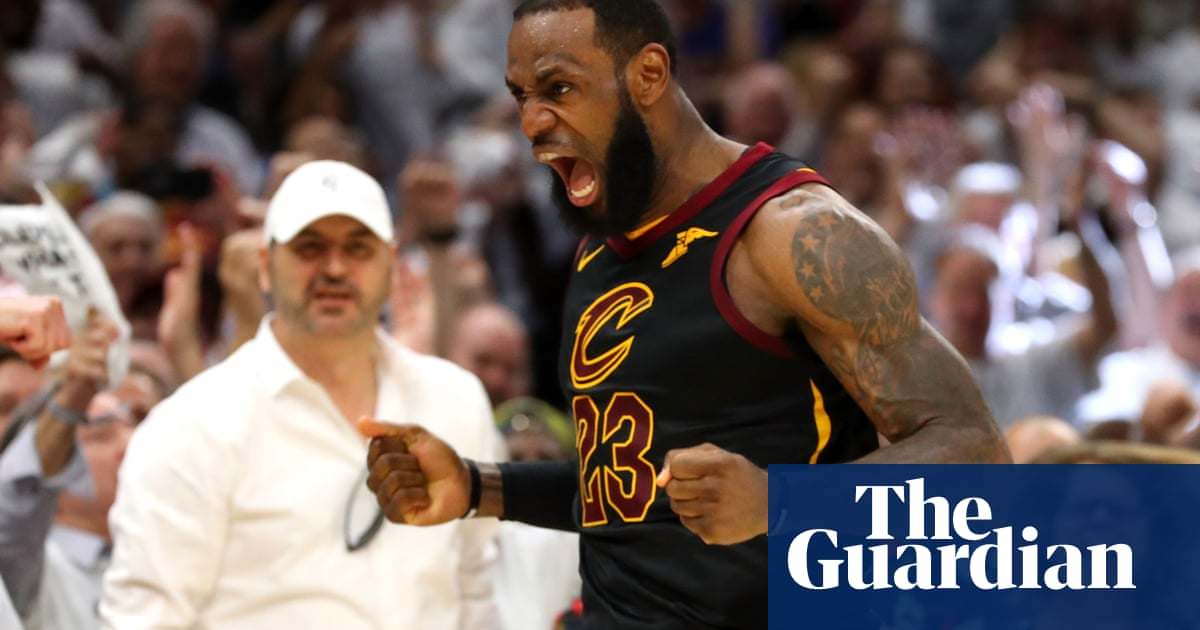 f865679996b4 Magnificent LeBron James keeps Cavaliers alive in NBA playoffs with 46  points