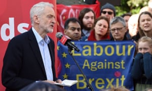 Jeremy Corbyn addressing at a rally in Broxtowe, Nottingham.