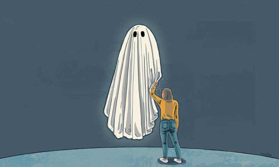 Lifting the sheet: 'Few memories are more vivid than the first time I saw a ghost.'