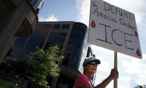 The US immigration enforcement agency has faced an outcry over aggressive policies.