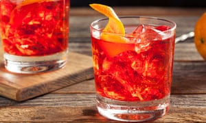 On the rocks: vermouth is one of the main ingredients in a negroni.