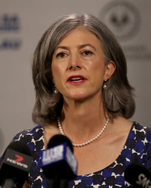 South Australia's chief public health officer, Prof Nicola Spurrier
