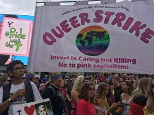 'Queer strike'