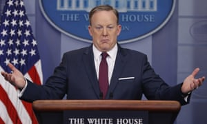 Sean Spicer: 'I was beginning to realize I had misspoken badly.'