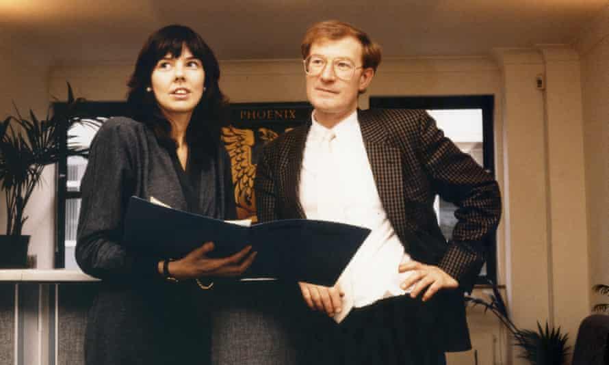 Helen Bailey with her first husband, John Sinfield.