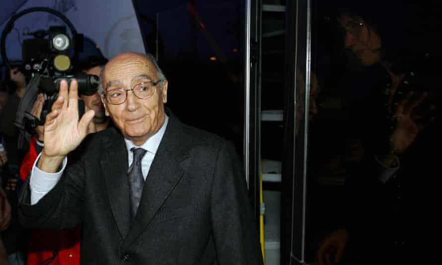 José Saramago, who won the Nobel prize for literature in 1998.