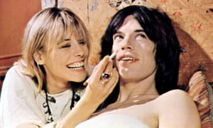 Anita Pallenberg and Mick Jagger in Performance, on which Litvinoff was a 'dialogue consultant' and 'technical advisor'