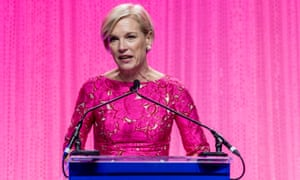 Cecile Richards speaks during the Planned Parenthood 100th anniversary gala on Tuesday in New York City.