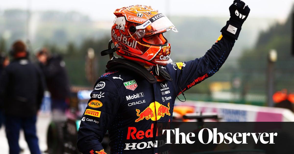 Lando Norris crash overshadows Max Verstappen's pole at Belgian F1 GP