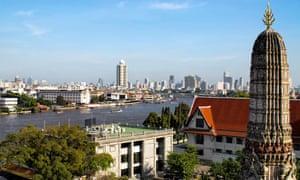 Bangkok where the half-marathon was held on Sunday.
