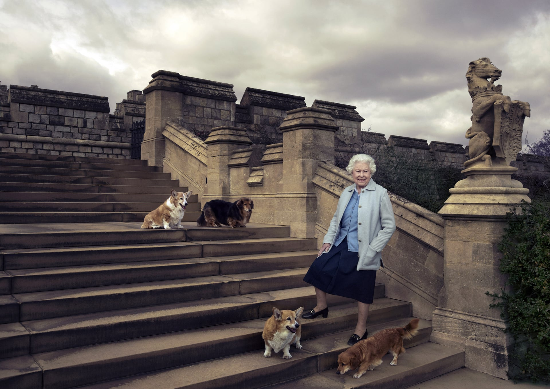 The Queen Birthday Photograph