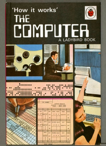 Ladybird's 1971 book The Computer, from the 'How it works' series.