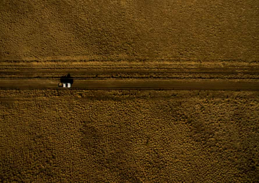 A drought hit area near Tambo in Queensland.