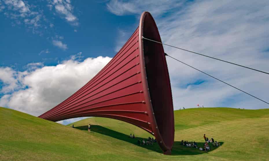 giant sculpture at Gibbs Farm, Kaipara Harbour, New Zealand