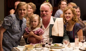 Amy Adams (left) and Philip Seymour Hoffman (centre) in The Master.