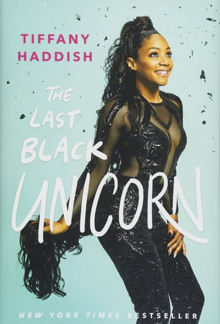 The cover of The Last Black Unicorn by Tiffany Haddish.