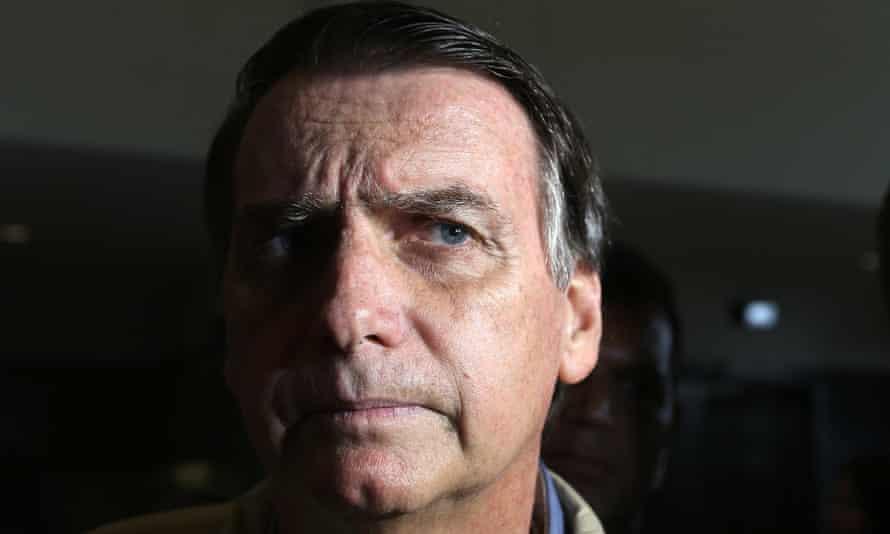 Brazil's president-elect, Jair Bolsonaro.