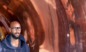 Nicolas Anelka arrives at Roda to take over as a consultant at the Eredivisie club.