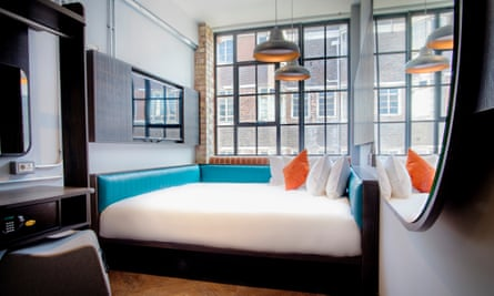 Bedroom at the New Road Hotel, Whitechapel, London