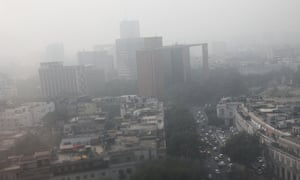 The Indian capital has been engulfed in smog this week.