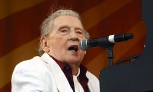 Jerry Lee Lewis at the 2015 New Orleans jazz and heritage festival