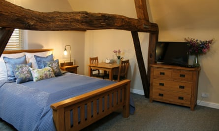 Bedroom at the Old Stables, Packington, Leicestershire