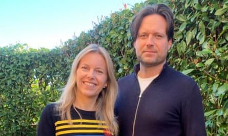 Jessica Frizell and her husband Alberto, Italy.